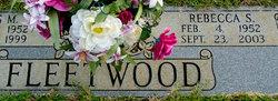 Rebecca <i>Sloan</i> Fleetwood