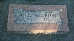 Alice M. Horton