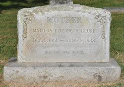 Matilda Elizabeth <i>Clay</i> Clure