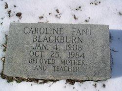 Caroline <i>Fant</i> Blackburn