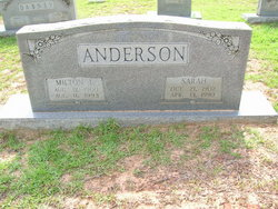 Sarah <i>Dabney</i> Anderson