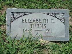 Elizabeth Ellenor <i>Burke</i> Burns
