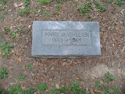 Minnie Mae <i>Chapman</i> Gilvin