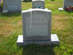 Lucy J <i>Tolbert</i> Alderman