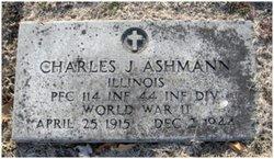 PFC Charles John Ashmann