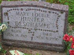Mary Louise <i>Hunter</i> Deschampe