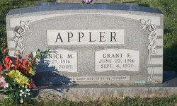 Bernice Mae <i>Dayhoff</i> Appler
