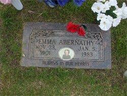 Mattie Emaline Emma <i>Burks</i> Abernathy