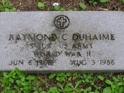Raymond C Duhaime