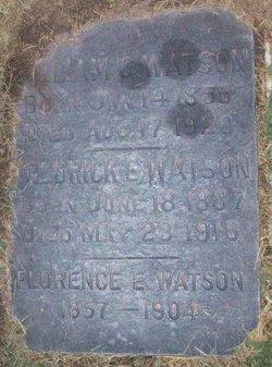 Florence E Watson