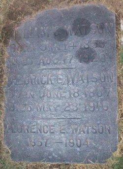 Fredrick E Watson