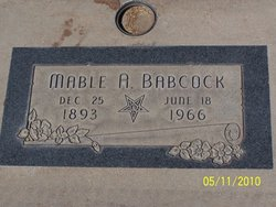 Mable A Babcock