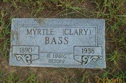 Myrtle <i>Clary</i> Bass