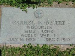 Carrol H. Detert