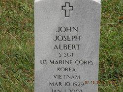 Sgt John Joseph Albert