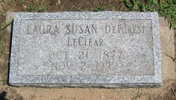 Laura Susan <i>DeForest</i> LeClear