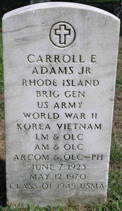 Gen Carroll Edward Adams, Jr