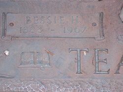 Bessie Faye <i>Harrell</i> Teague