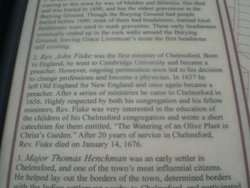 Rev John Fiske