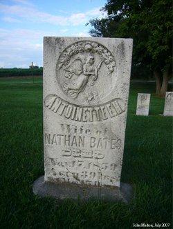 Antoinette Elizabeth <i>Hubbard Burnsone</i> Bates