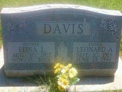 Edna L. <i>Headlee</i> Davis
