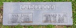 Anna <i>Enke</i> Calderwood