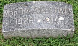 Martha <i>Jones</i> Davis