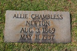 Alice Winbreth Allie <i>Chambless</i> Newton