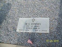 Ellis M. C. Downes