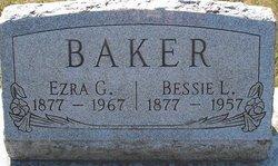 Bessie L. <i>Robinson</i> Baker