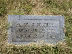 Robert Ragsdale Boothe, Sr