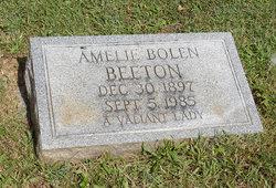 Amelie <i>Bolen</i> Beeton