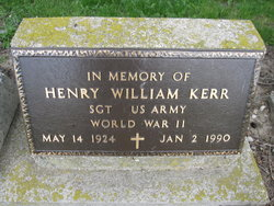 Henry William Hank Kerr