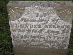 Elender Nellie <i>McGraw</i> Nelson