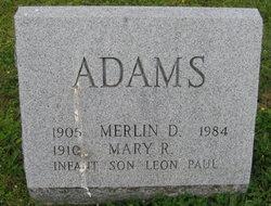 Mary Rebecca <i>Hower</i> Adams