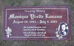Monique Yvette Lozano