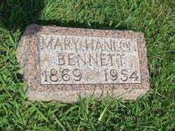Mary <i>Hanlon</i> Bennett