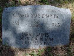 Sarah Gaines