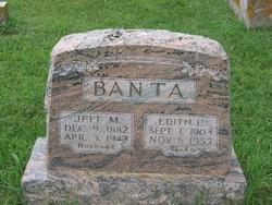 Edith Elizabeth <i>Harrison</i> Banta