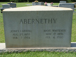 Ella May <i>Whitener</i> Abernethy