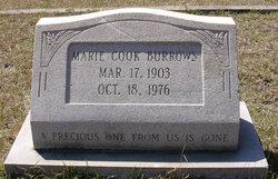 Marie <i>Cook</i> Burrows
