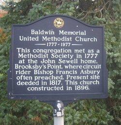 Baldwin Memorial United Methodist Church Cemetery