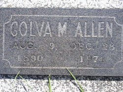 Golva Mae <i>Fetters</i> Allen