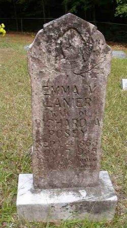 Emma V <i>Lanier</i> Posey