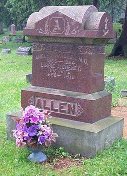 Libbie <i>Cheney</i> Allen