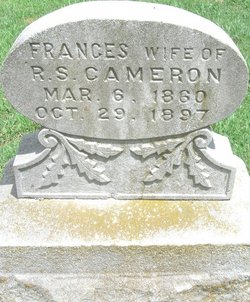 Frances <i>Pitt</i> Cameron