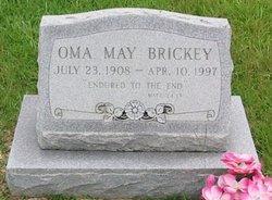 Oma <i>May</i> Brickey