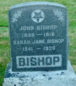 Sarah Jane <i>Johnson</i> Bishop