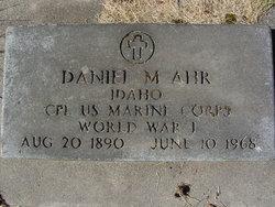 Daniel Merrill Ahr