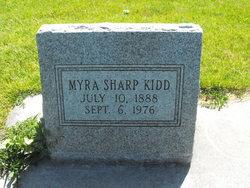 Myra <i>Sharp</i> Kidd